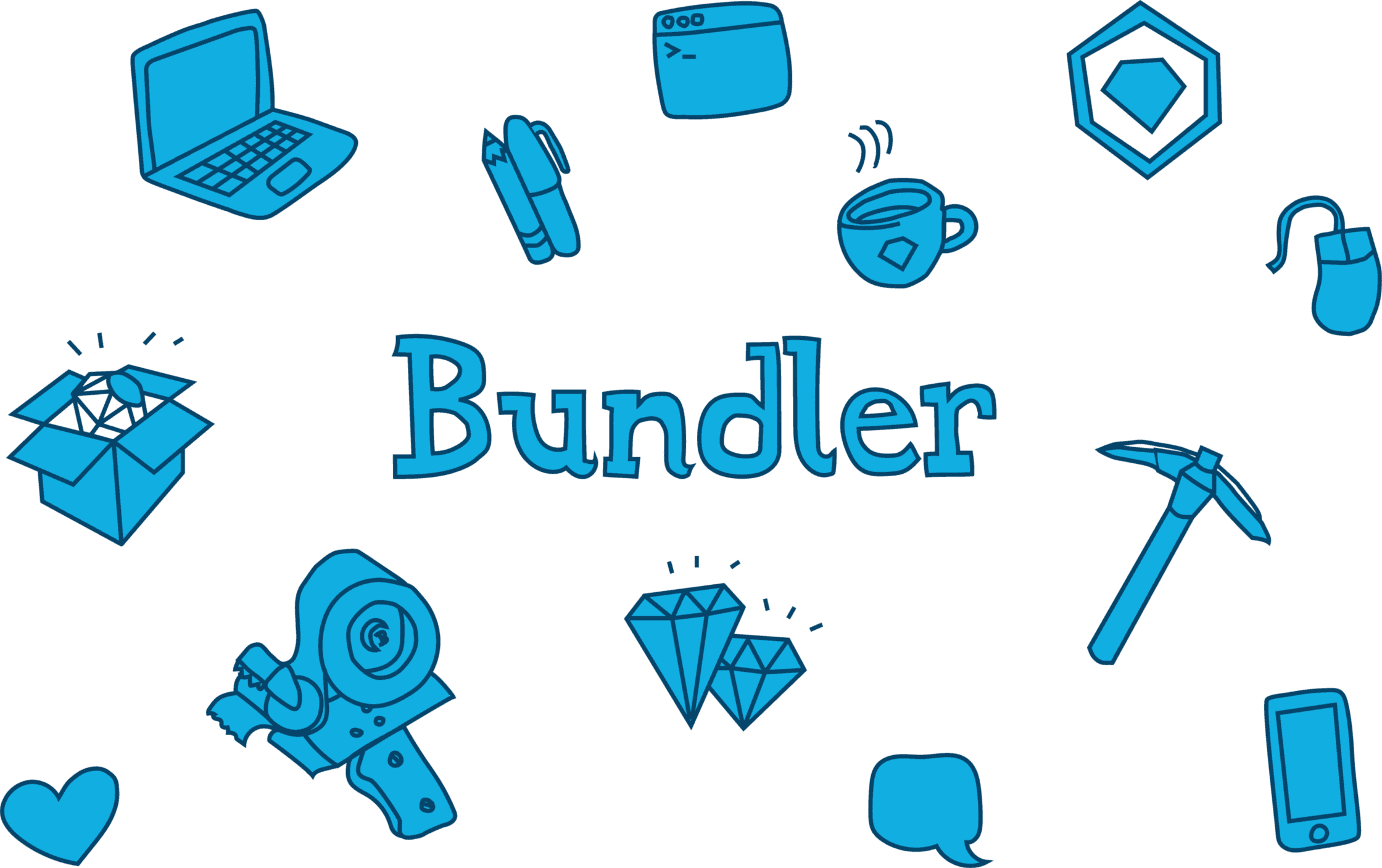【Bundler】ロゴ