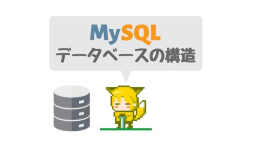 【MySQL】データベースの構造や仕組み、テーブルとの違いを解説