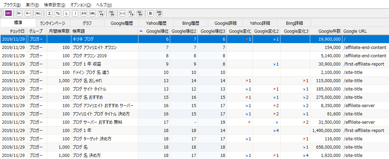 【GRC】トップ画面