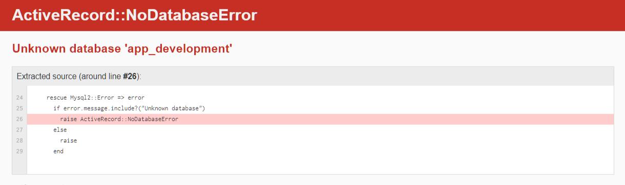 DockerでRailsの「unknown database」エラー